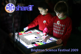 DigiTile at the Brighton Science Festival